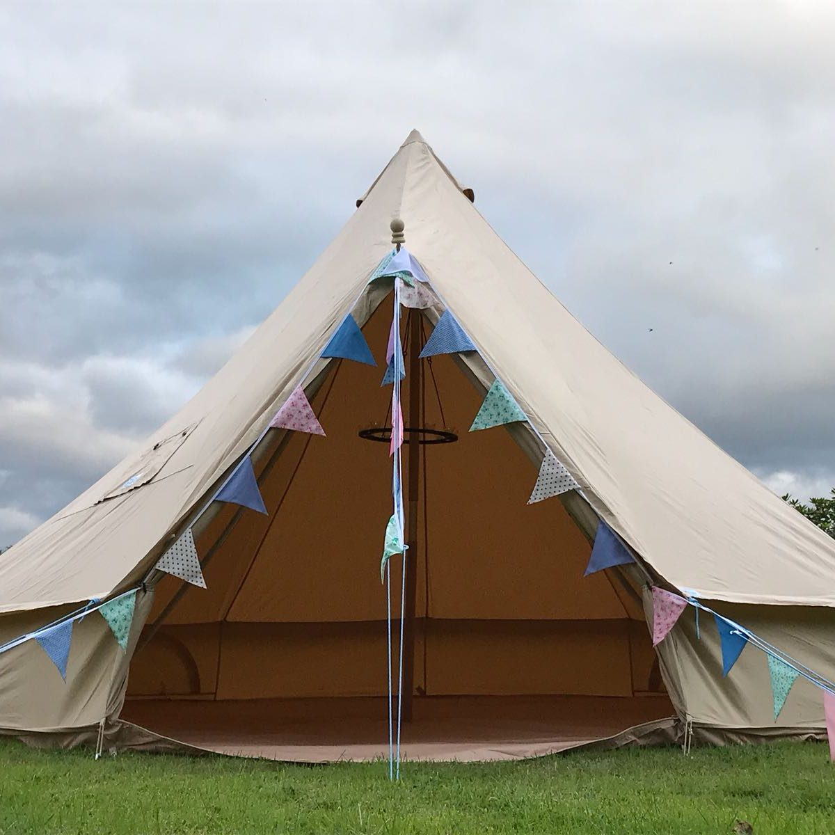 camping tent hire yorkshire