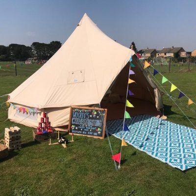 Children's Activity Bell Tent Hire