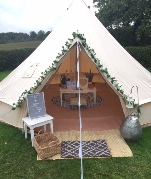 Bell tent hire in Yorkshire